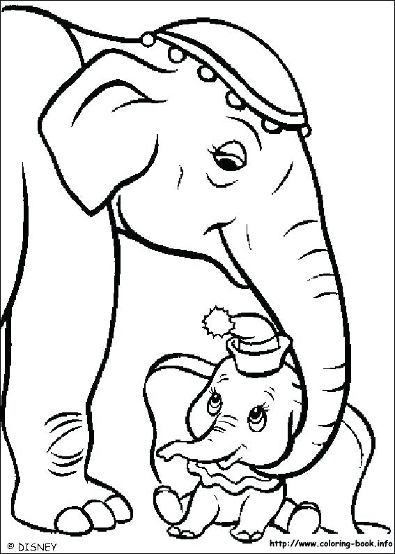 567x794 Et Coloring Pages Dumbo Catty With Baby Dumbo Coloring Pages