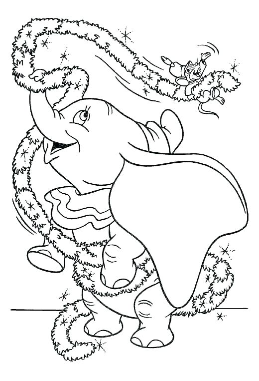 520x763 Dumbo Coloring Page Dumbo Coloring Page Dumbo The Elephant