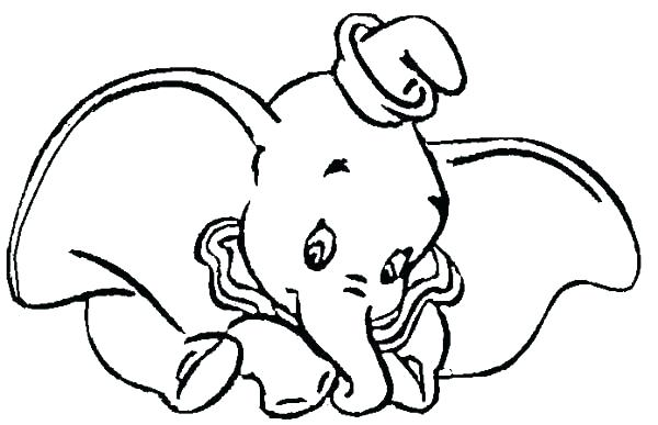 600x387 Dumbo Coloring Page Dumbo Pictures To Color Dumbo The Elephant