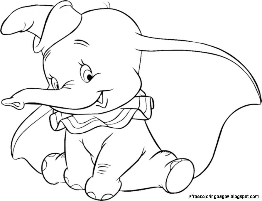 893x685 Dumbo Coloring Pages Free Coloring Pages