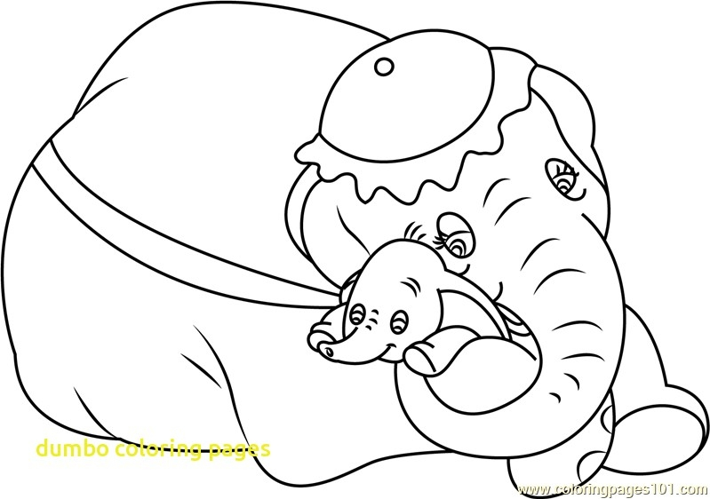 799x562 Dumbo Coloring Pages Printable Coloring Page