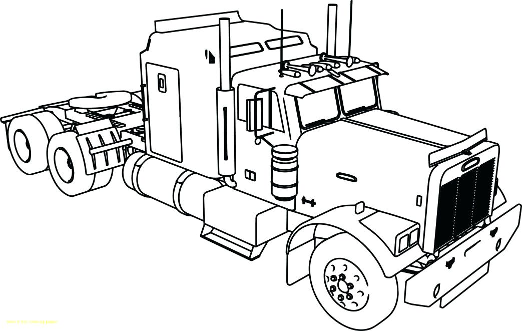 1043x661 Dump Truck Coloring Page Large Size Of Dump Truck G Pages Free
