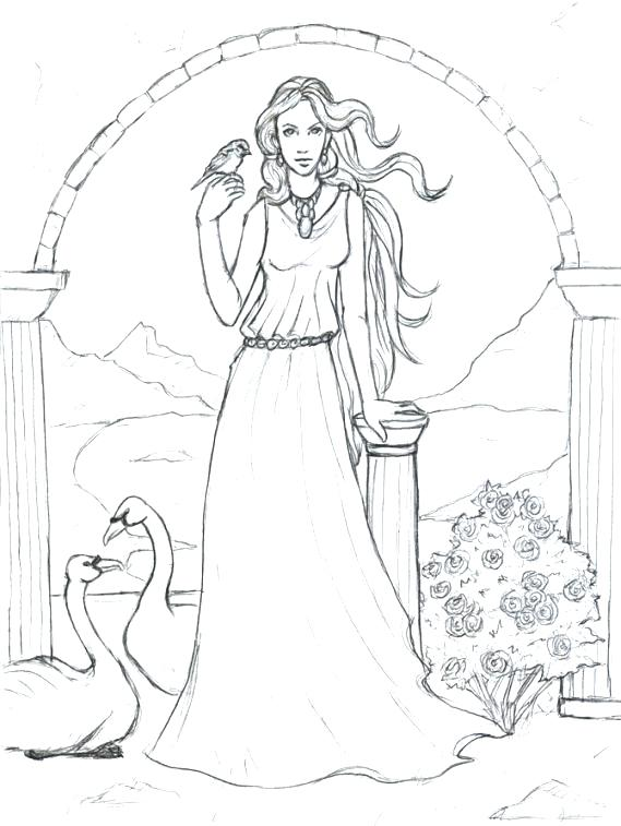 569x757 Goddess Coloring Pages God Coloring Pages Goddess Coloring Pages