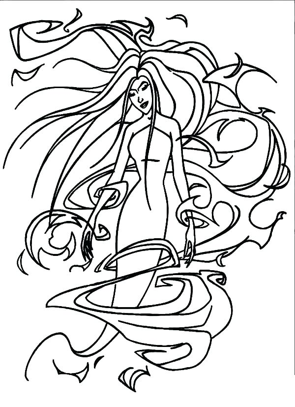 600x827 Goddess Coloring Pages The Goddess Chaos Testing The Honesty