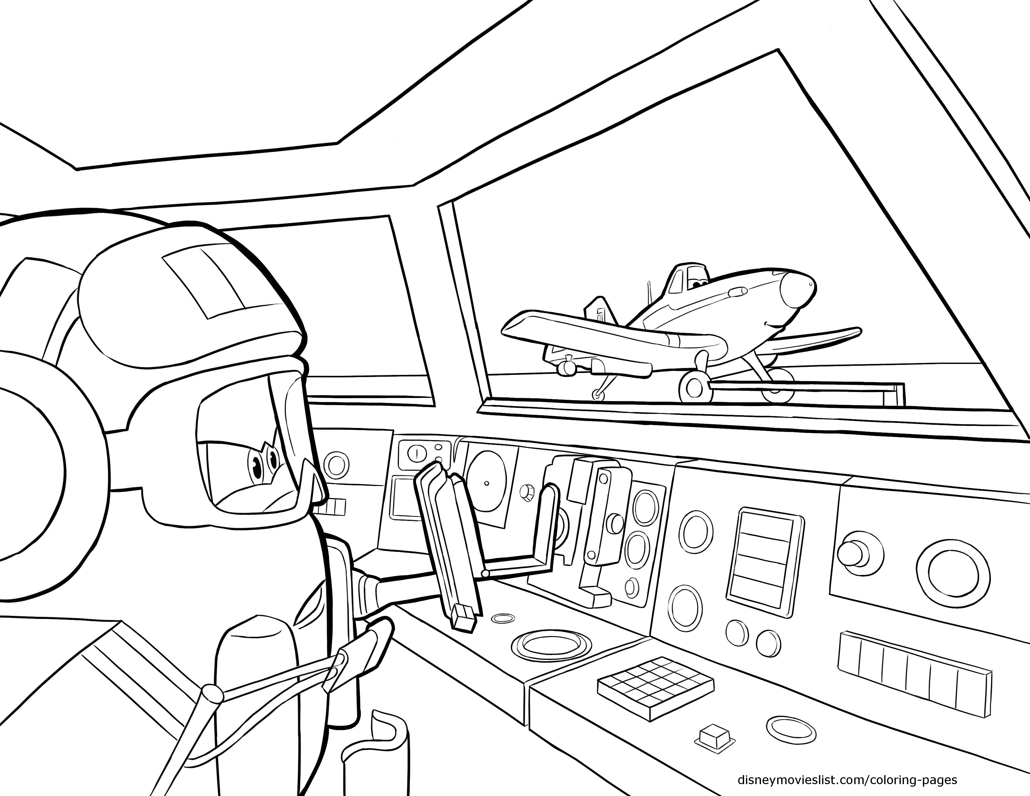 Dusty Planes Coloring Pages at GetDrawings.com | Free for personal ...