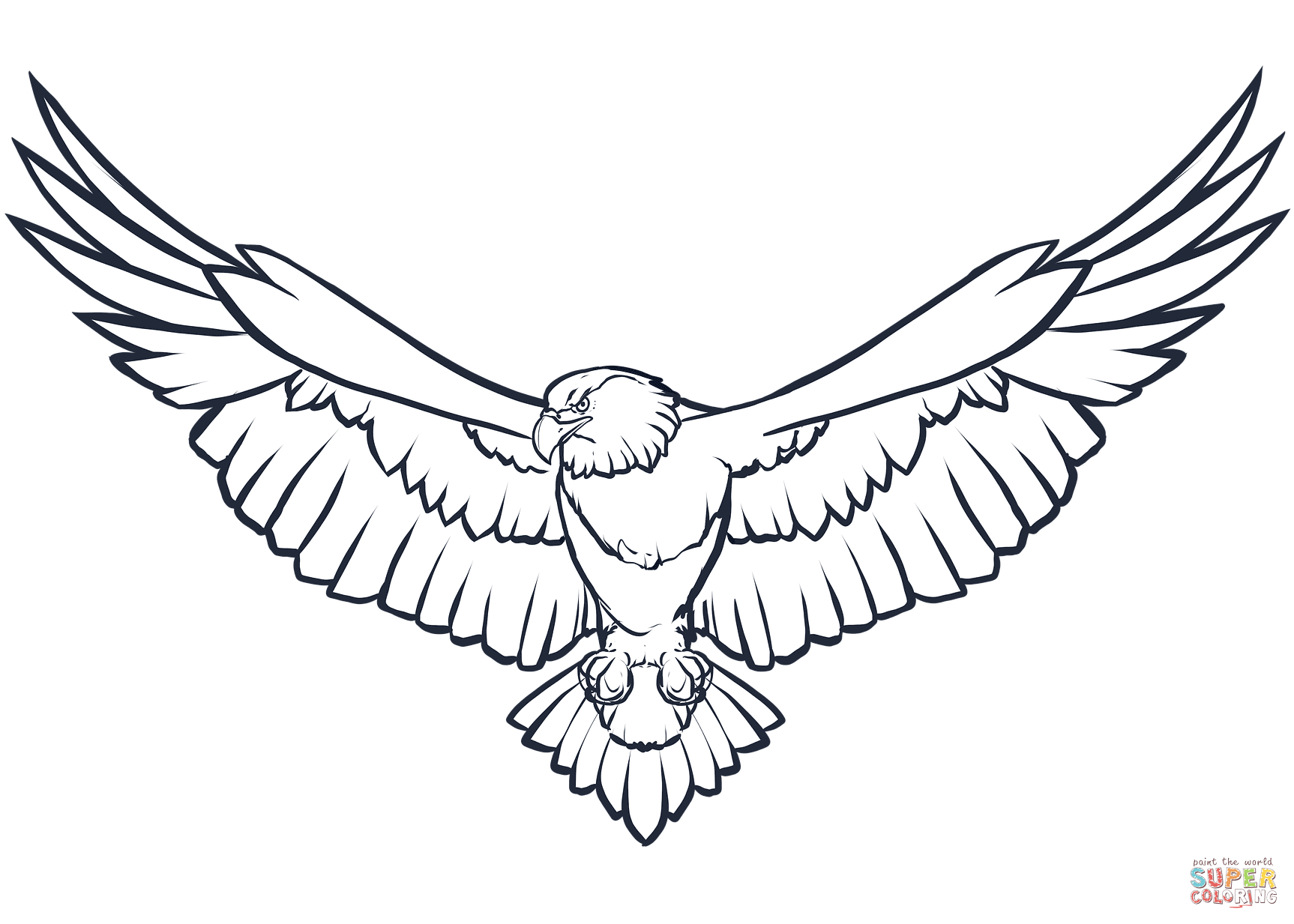 1726x1233 Bald Eagle Coloring Page Free Printable Coloring Pages Eagle