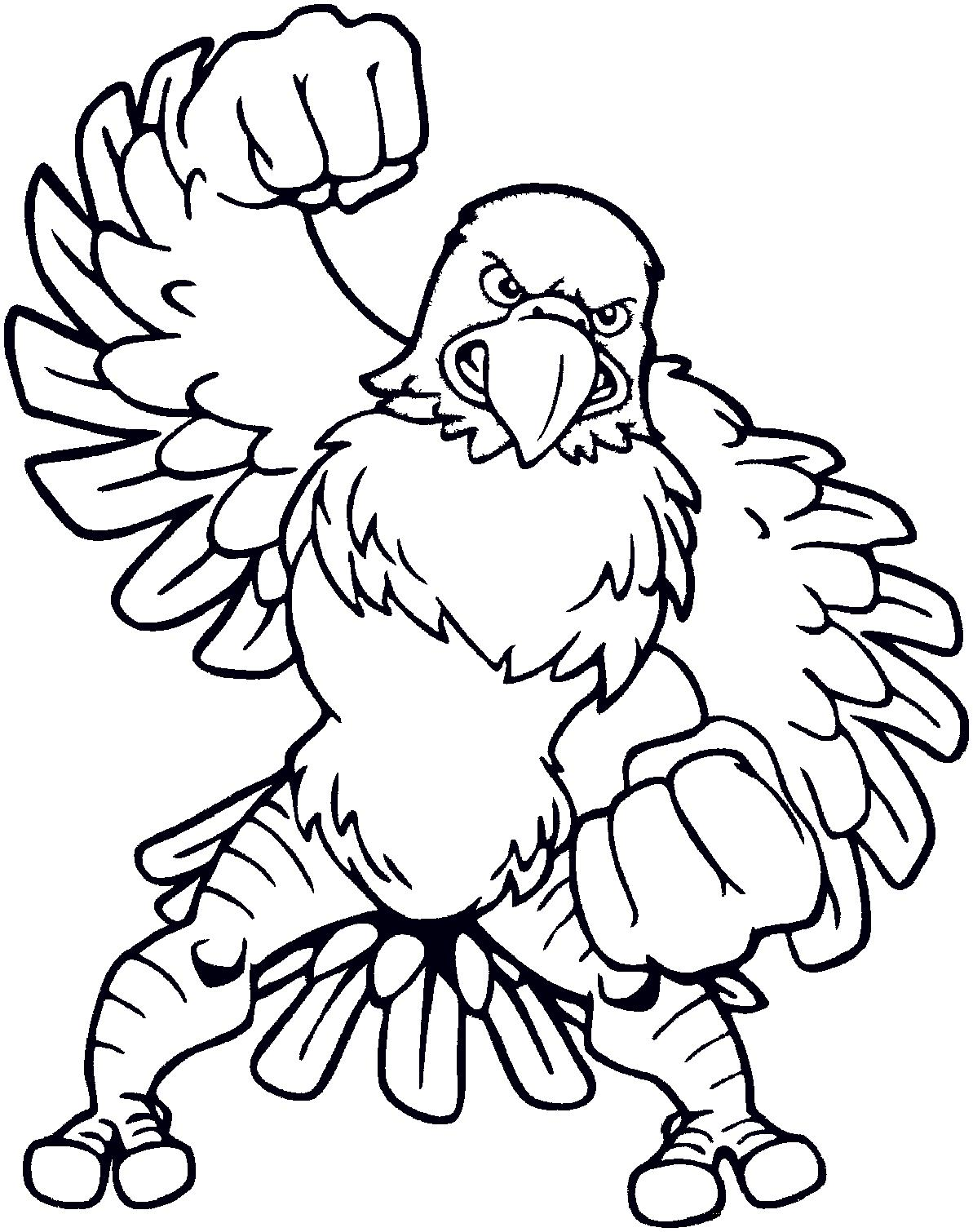 1193x1510 Bald Eagle Coloring Pages Cartoon