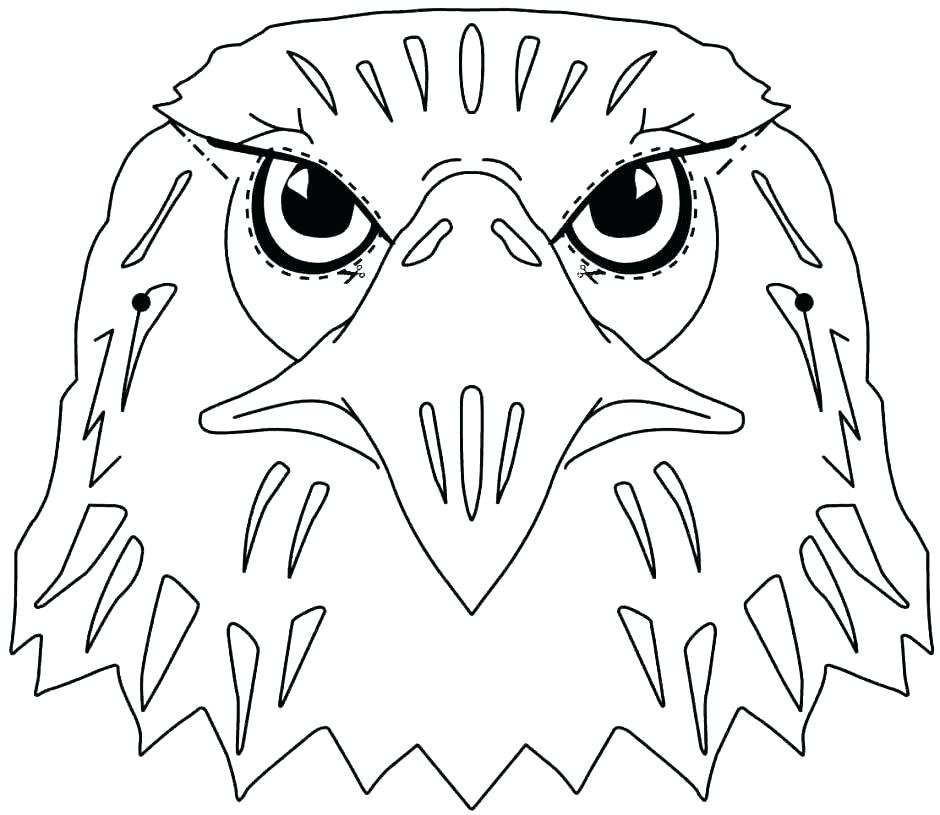 940x815 Eagle Football Coloring Pages Printable Coloring Bald Eagle