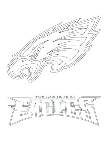 360x480 Philadelphia Eagles Coloring Pages Eagles Coloring Pages Coloring
