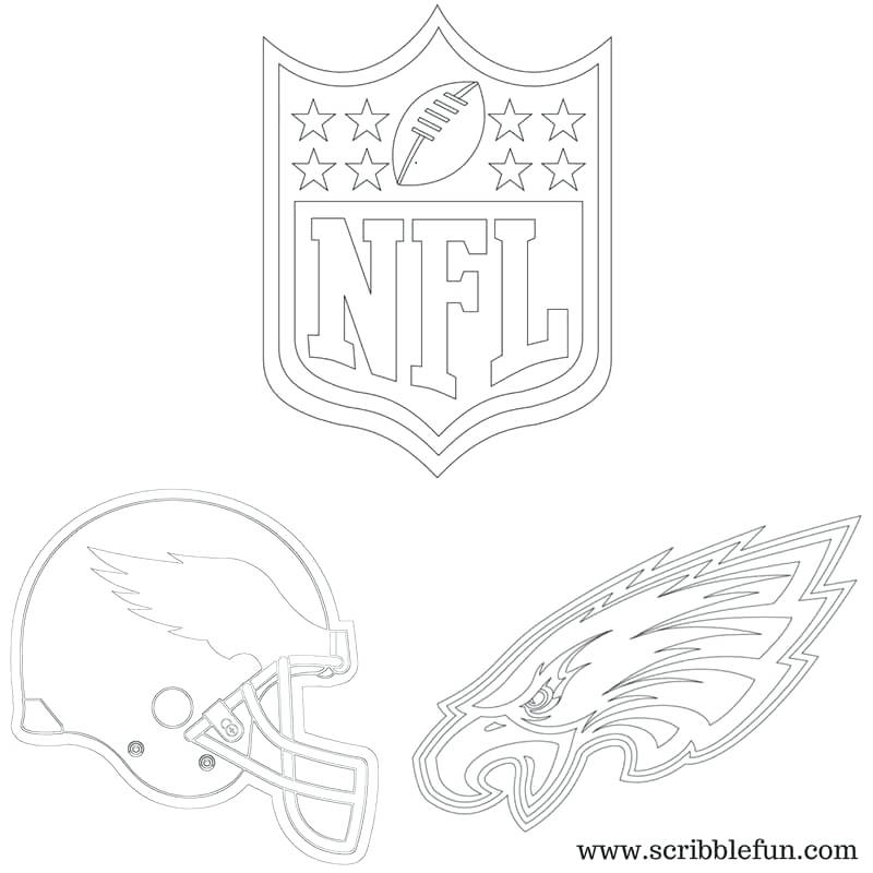 800x800 Philadelphia Eagles Coloring Pages Printable Eagles Coloring Page