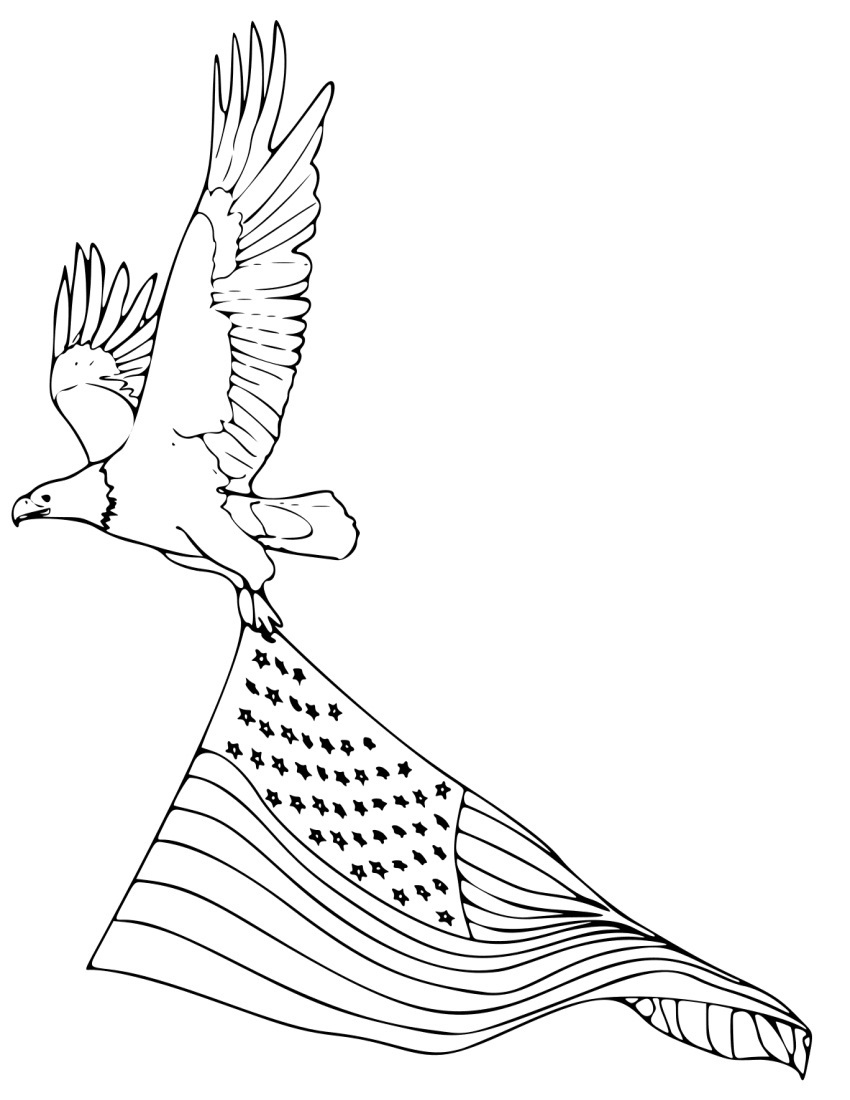 850x1100 Bald Eagle Coloring Page New Bald Eagle Drawing For Kids Logo