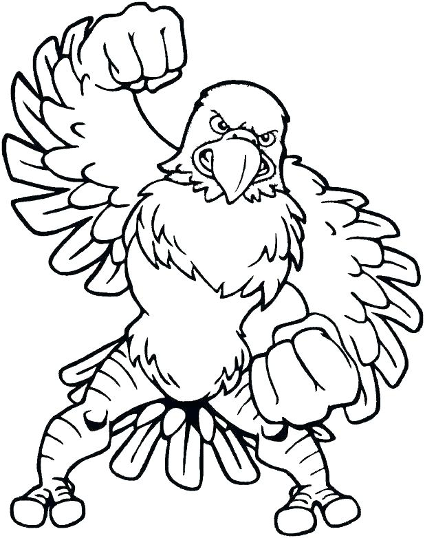 618x782 Top Free Printable Eagles Coloring Pages Eagles Coloring Page