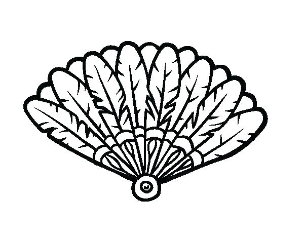 600x470 Turkey Feathers Coloring Pages Feather Eagle Coloring Page Feather