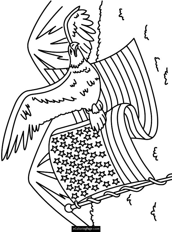 603x815 Eagle Coloring Page