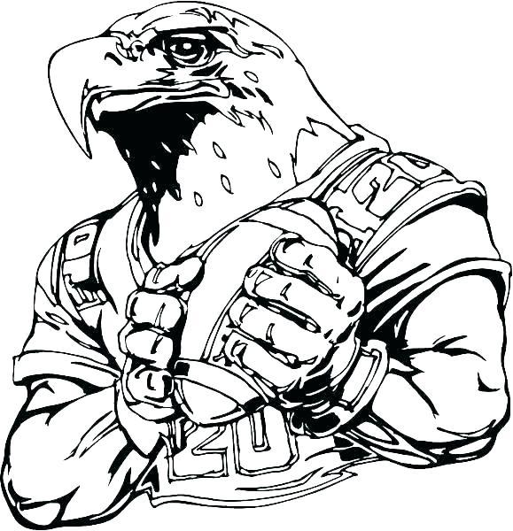 579x600 Eagle Coloring Pages Eagle Coloring Pages Download Realistic