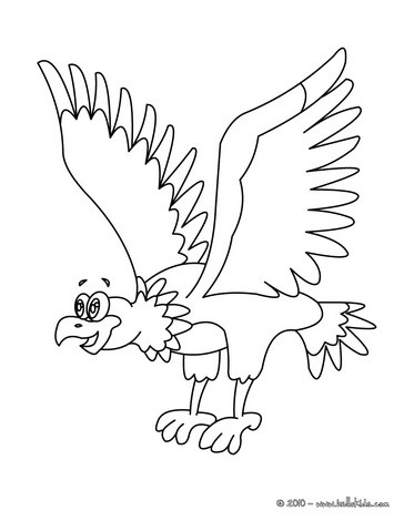 364x470 Eagle Printable Coloring Pages