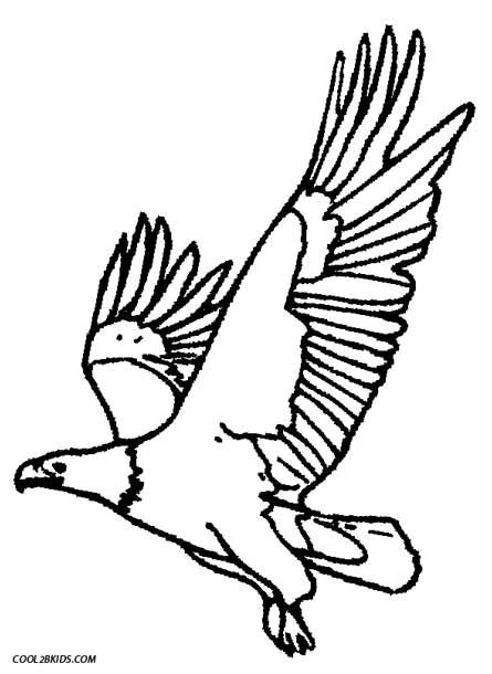 445x610 Printable Eagle Coloring Pages For Kids Color Me