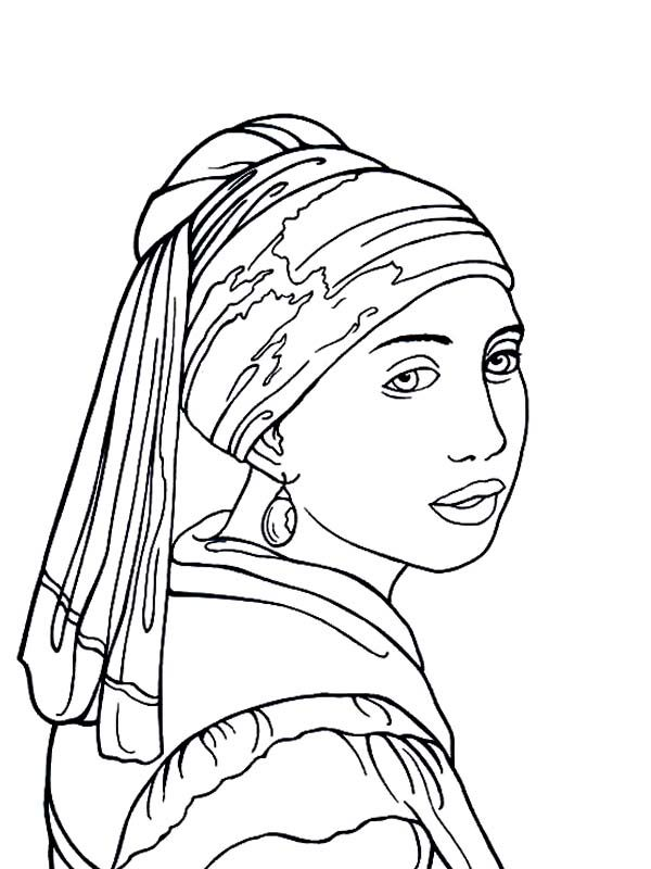 600x800 Famous Paintings, The Girl With Pearl Earring In Famous