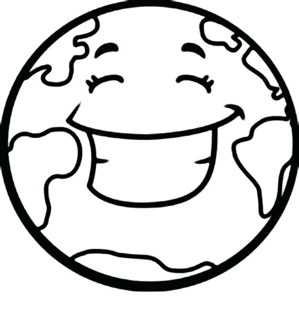 Earth Coloring Pages At Getdrawings Free Download
