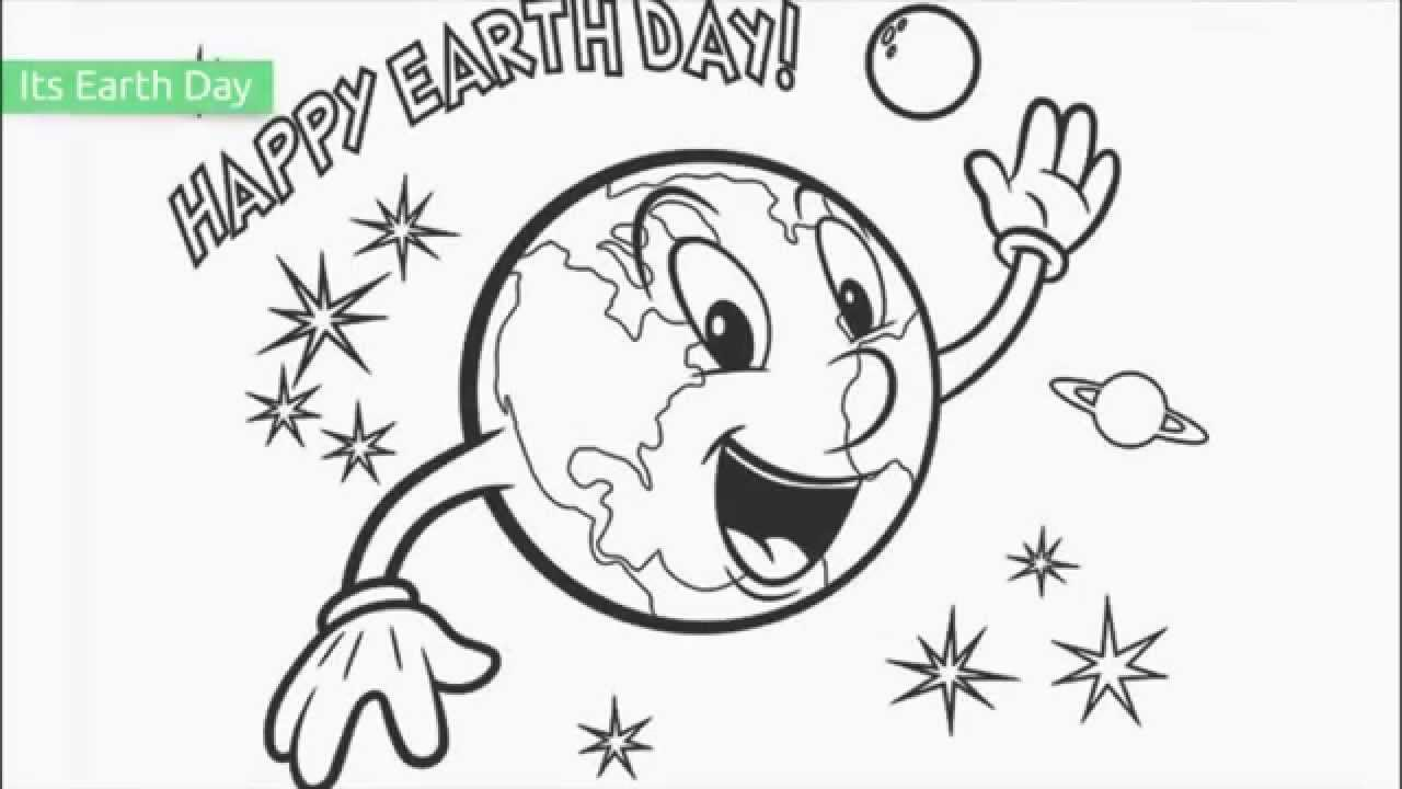 1280x720 Earth Coloring Pages Free Printable