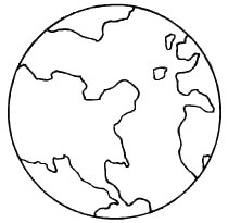 210x205 Earth Coloring Pages Printable