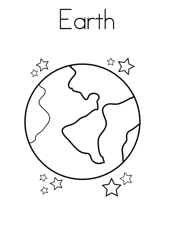 600x776 Earth For Coloring Printable Earth Coloring Pages Coloring Me