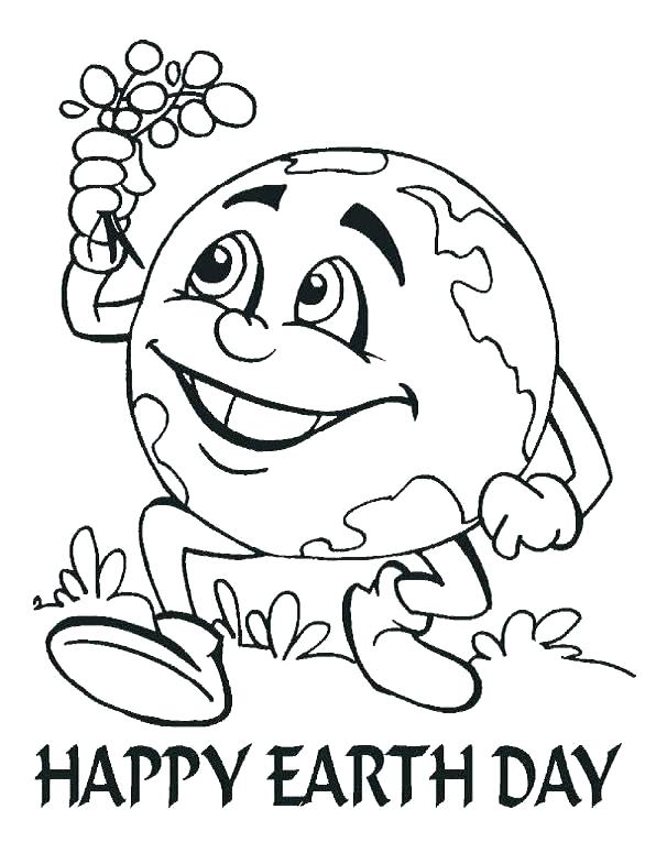 606x785 Earth Color Page Learn Letter E Is For Earth Coloring Page Earth