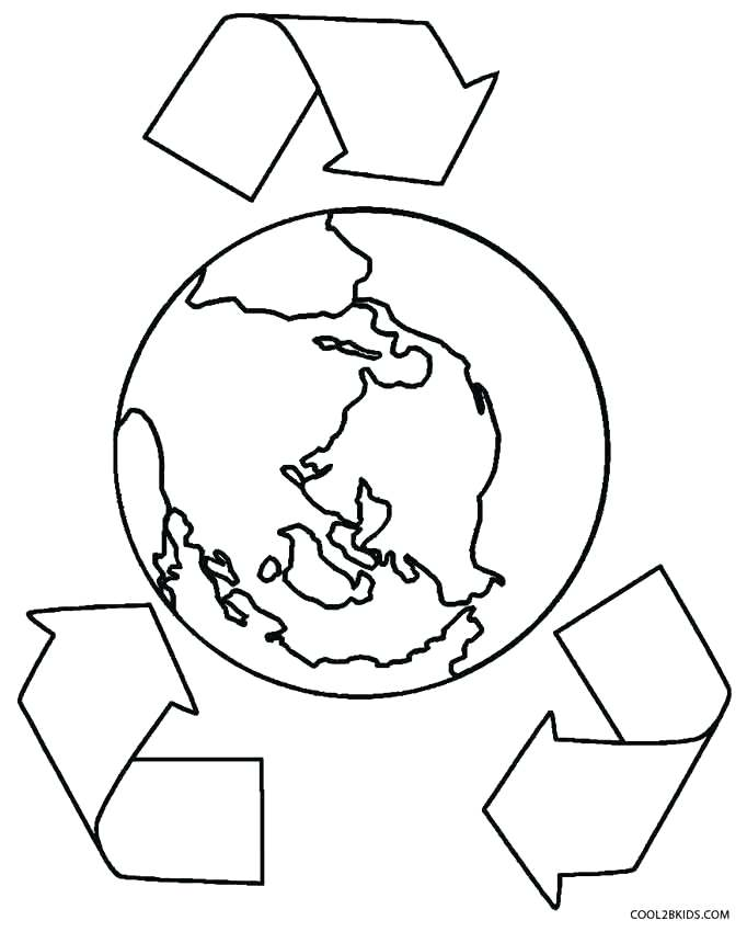 682x850 Earth Coloring Page Coloring Page Of The Earth Earth Coloring