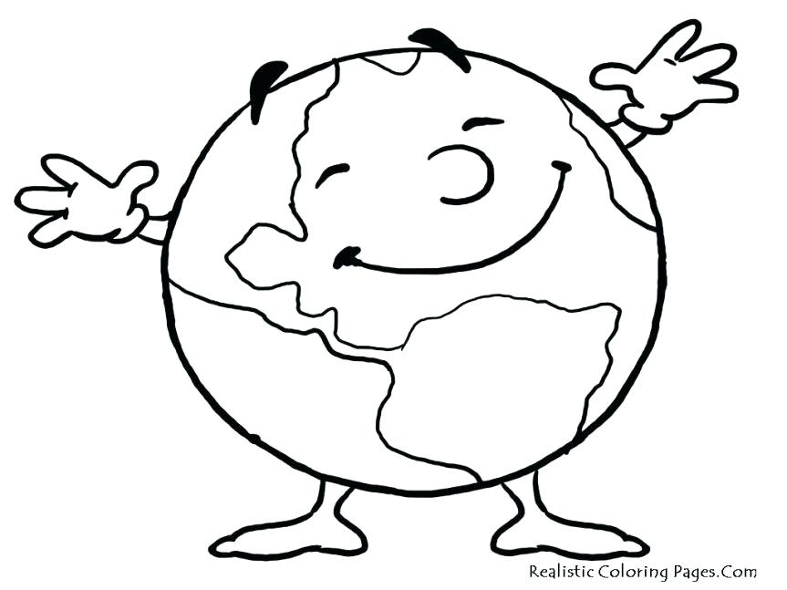 863x647 Printable Earth Coloring Pages For Kids Coloring Pages