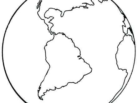 440x330 Printable Earth Coloring Pages Free Printable Earth Day Coloring