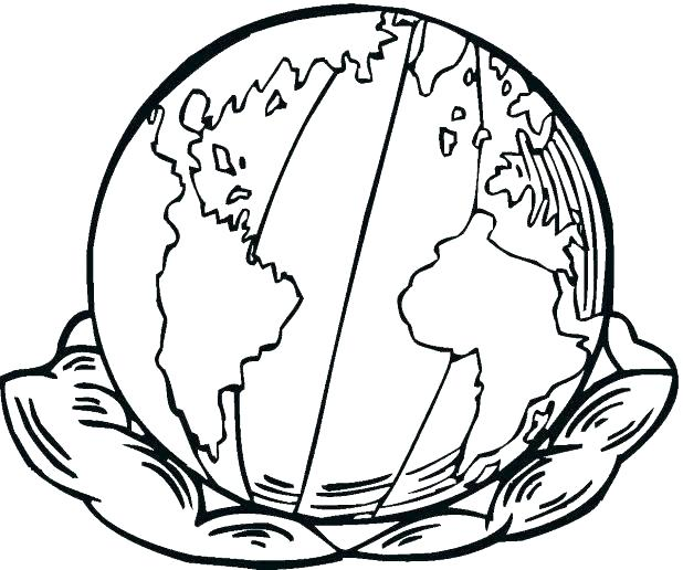 618x516 Printable Planet Coloring Pages For Kids Planet Earth Coloring