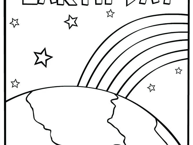 667x500 Free Printable Earth Day Coloring Sheets
