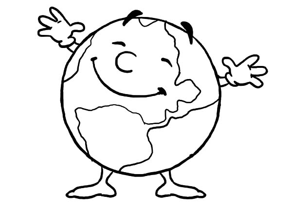 600x429 Happy Coloring Pages Vibrant Creative Earth Coloring Pages Earth