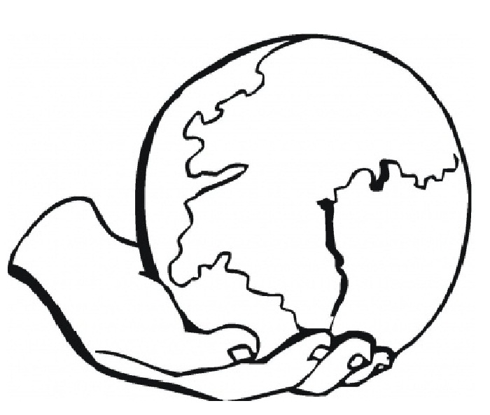 Earth Coloring Pages For Kids At Getdrawings Com Free For Personal