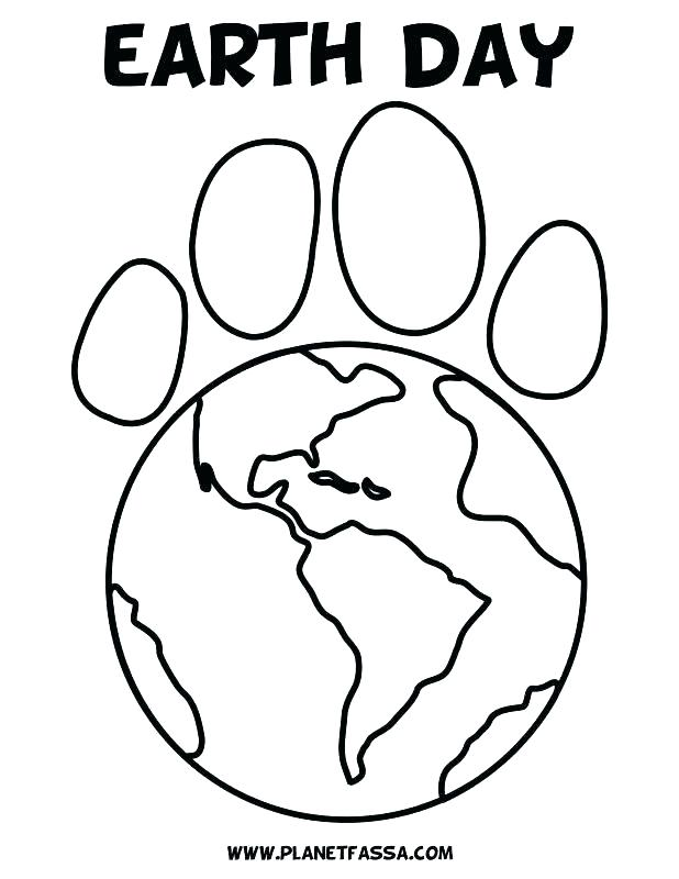 Earth Day Coloring Pages Kindergarten at GetDrawings.com | Free for ...