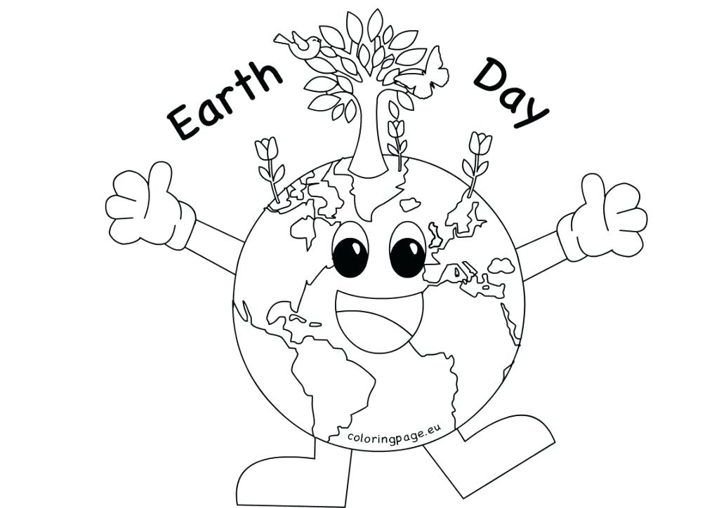 Earth Day Coloring Pages Kindergarten At Getdrawings Free Download