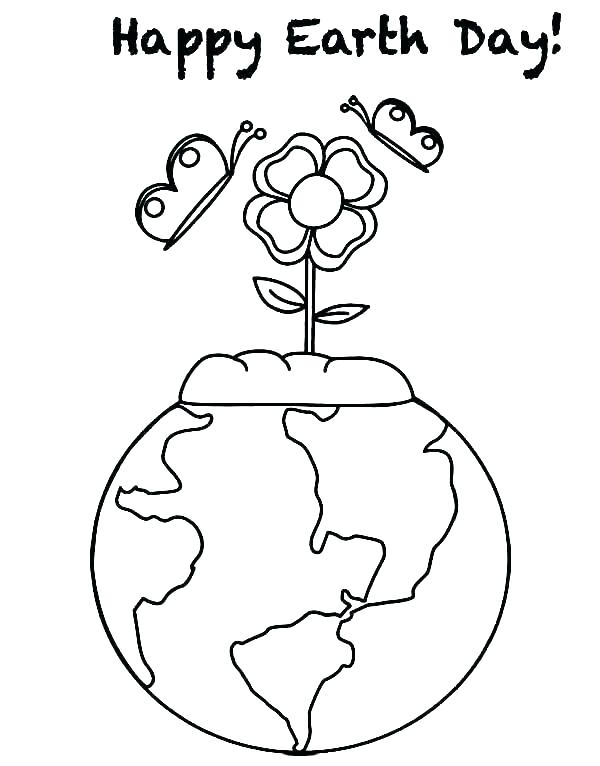 600x766 Earth Day Coloring Worksheets Coloring Pages Earth Earth Coloring