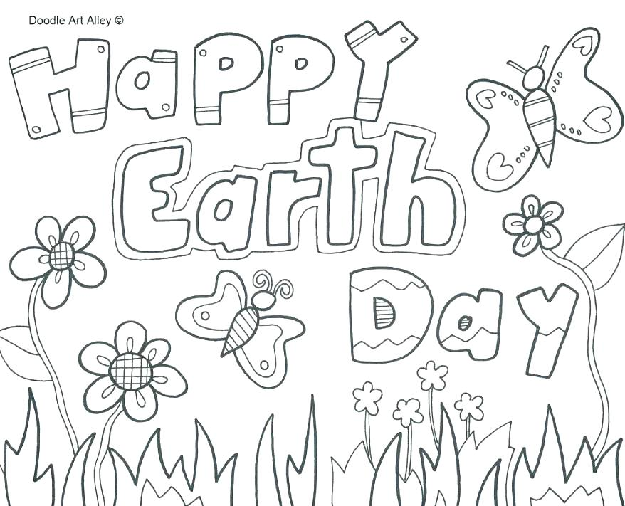 Earth Day Coloring Pages Pdf At GetDrawings Free Download