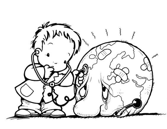 564x434 Earth Day Coloring Pages