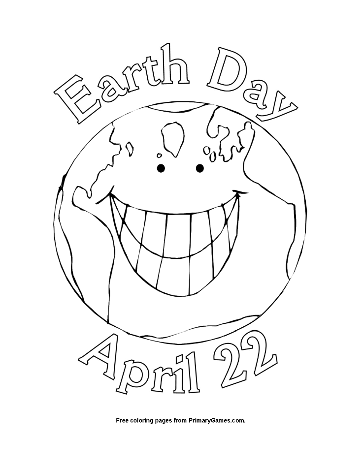 735x951 Earth Day Coloring Page Printable Earth Day Coloring Ebook