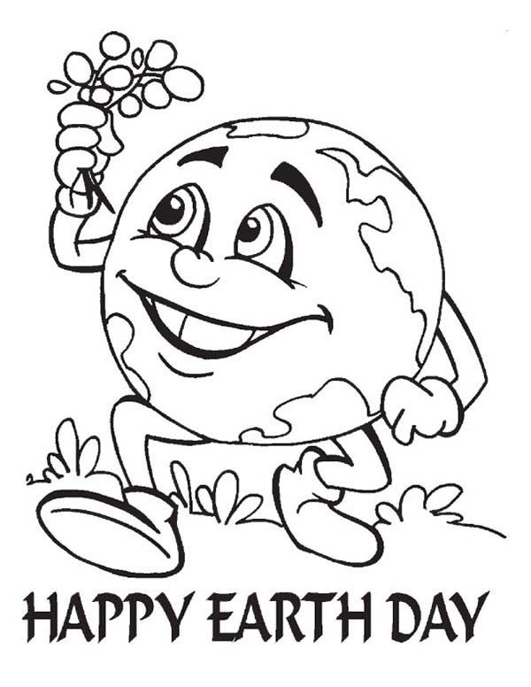 600x776 Earth Day Coloring Sheets Earth Day Coloring Pages For Kids