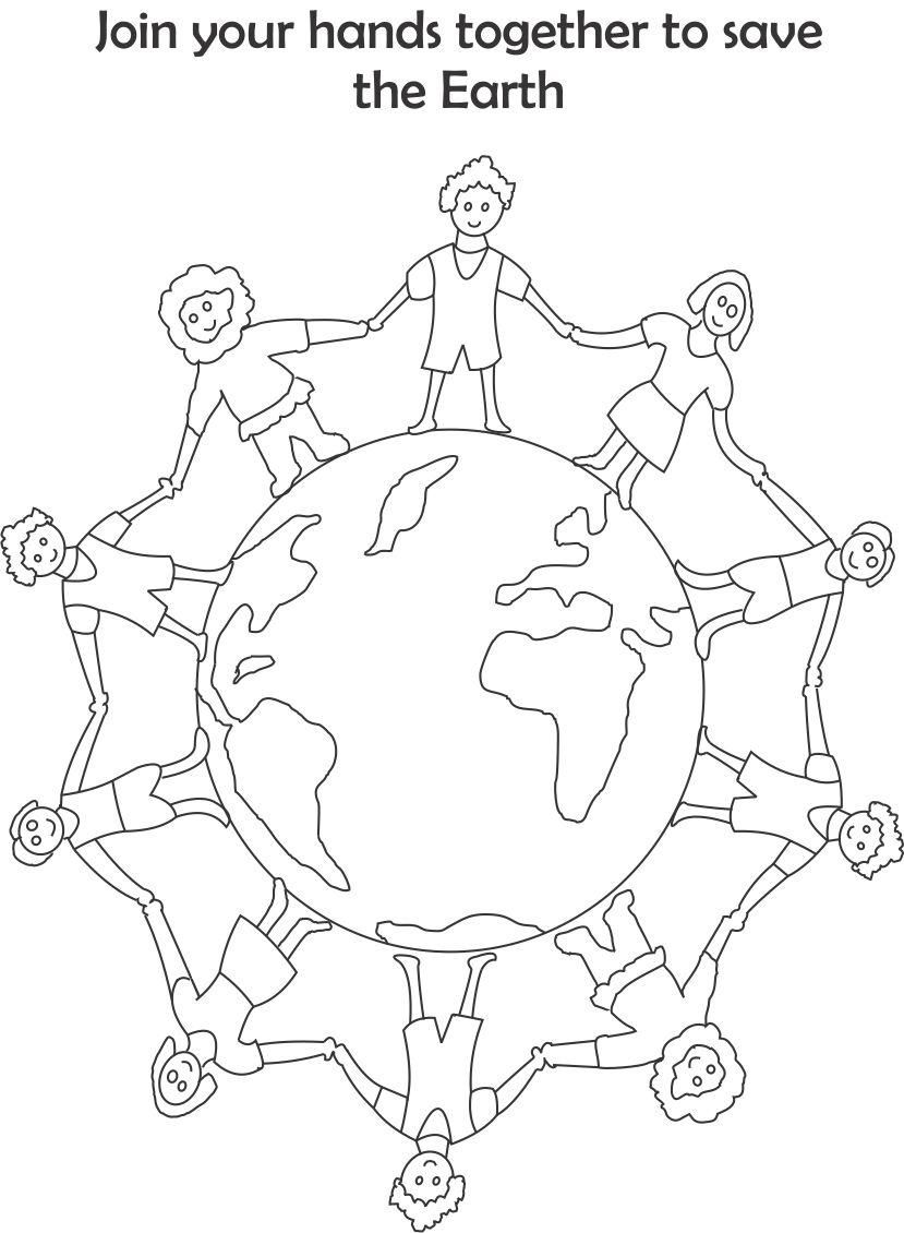 829x1130 Earth Day Printable Coloring Page For Kids Going Green