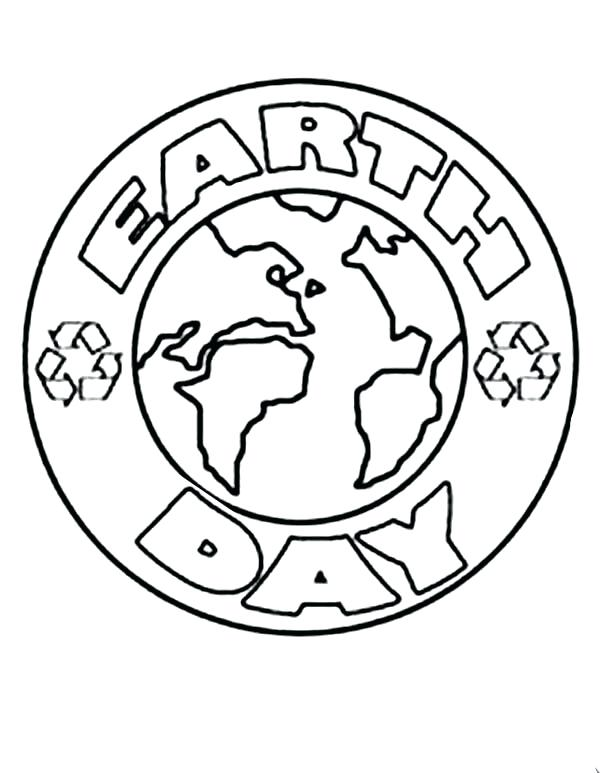 600x773 Printable Earth Coloring Pages Earth Day Coloring Pages Easy