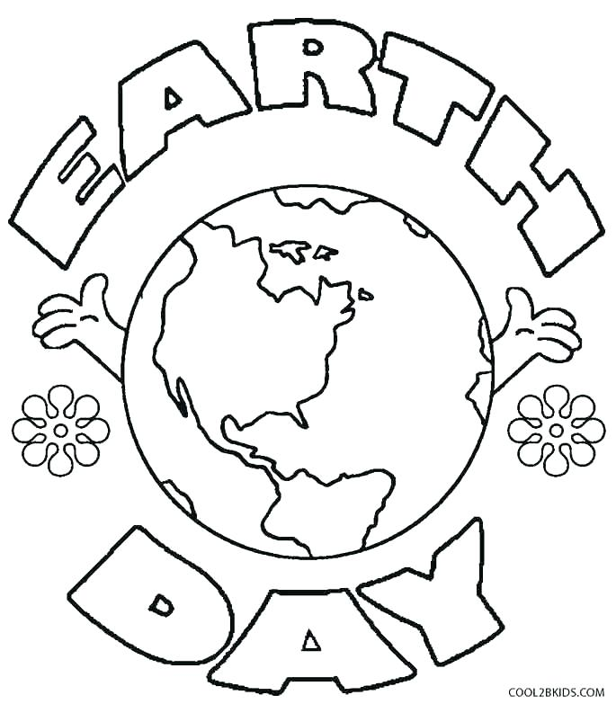 685x783 Earth Coloring Pages Earth Color Page Printable Coloring Pages