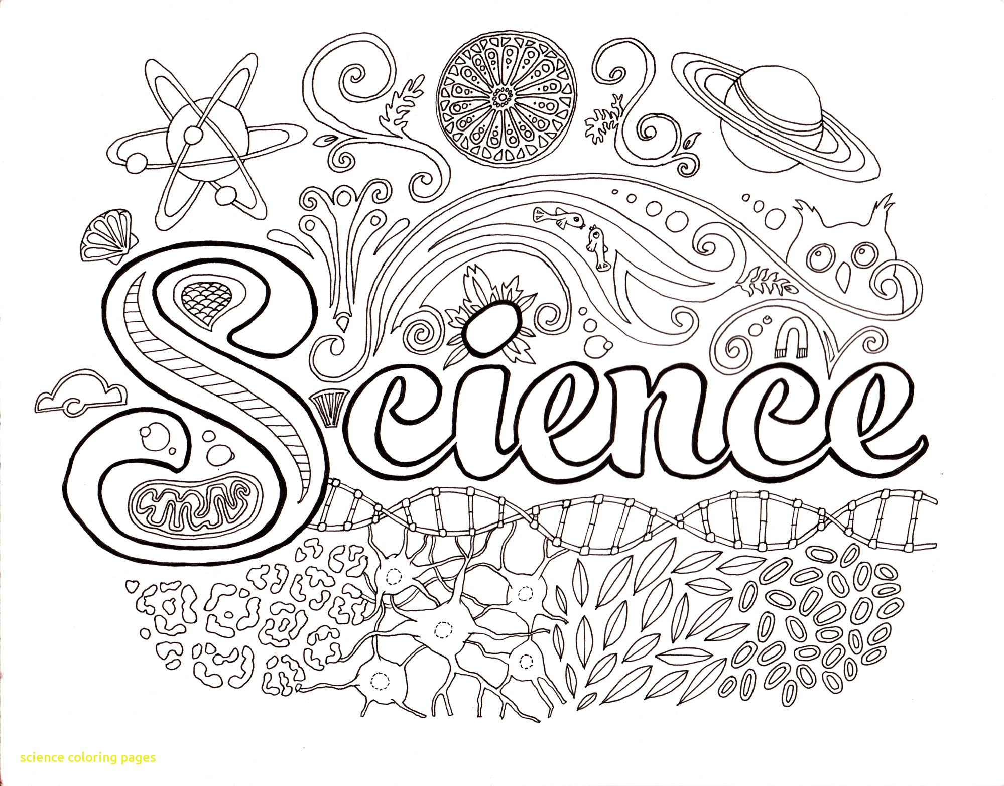 2000x1566 Coloring Pages For Earth Science New Science Coloring Pages