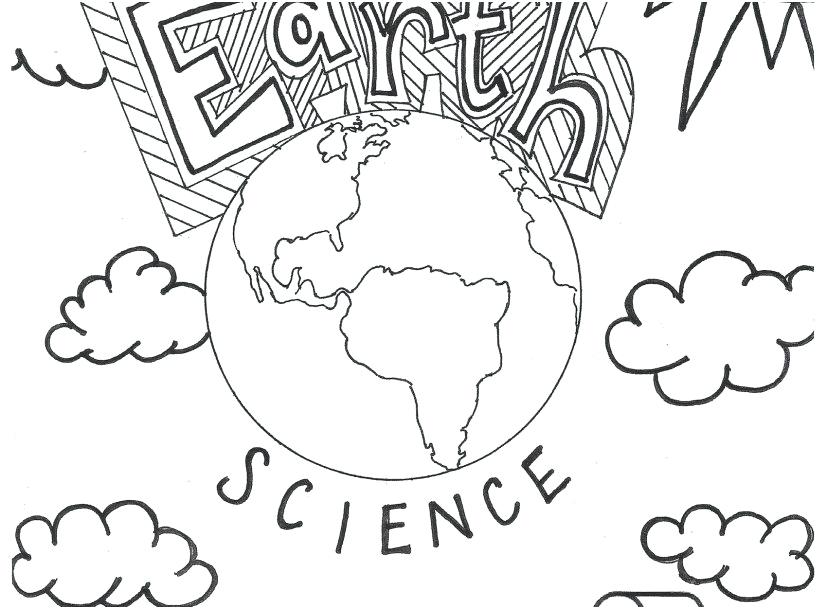 827x609 Science Coloring Pages Middle School