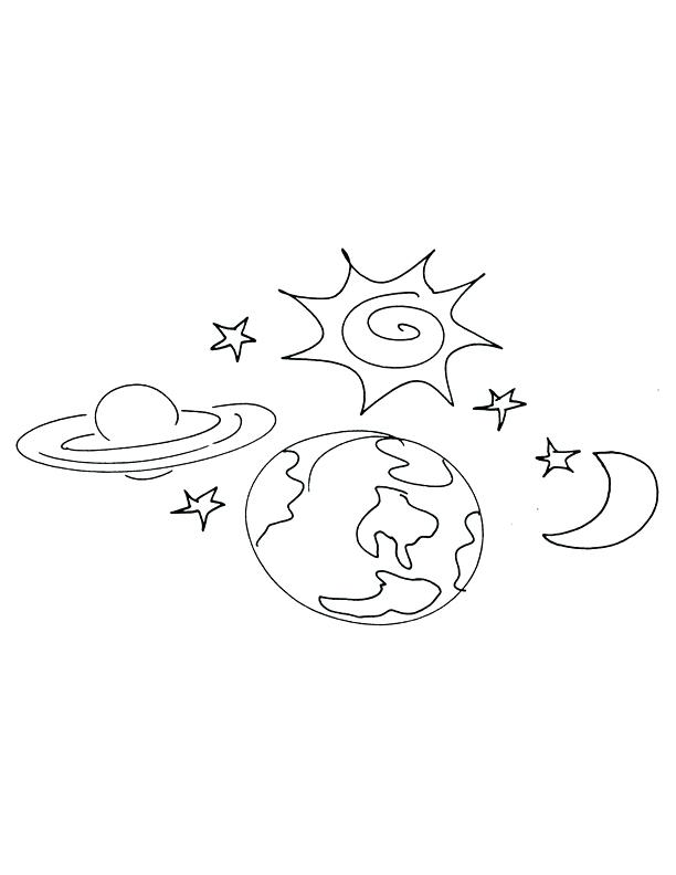 612x792 Earth Coloring Page God Created The Earth Coloring Pages Earth