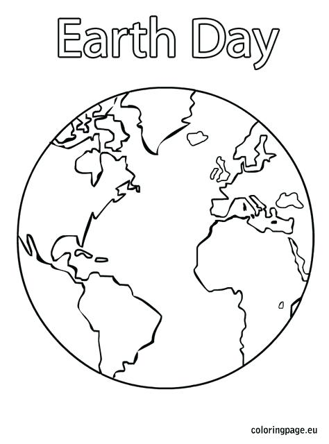 474x640 Earth Coloring Page Large Earth Coloring Page Great For Earth Day