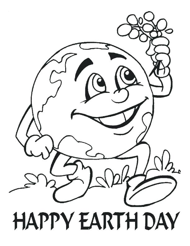 612x792 Earth Day Coloring Pages To Print Appealing World Map Color Page