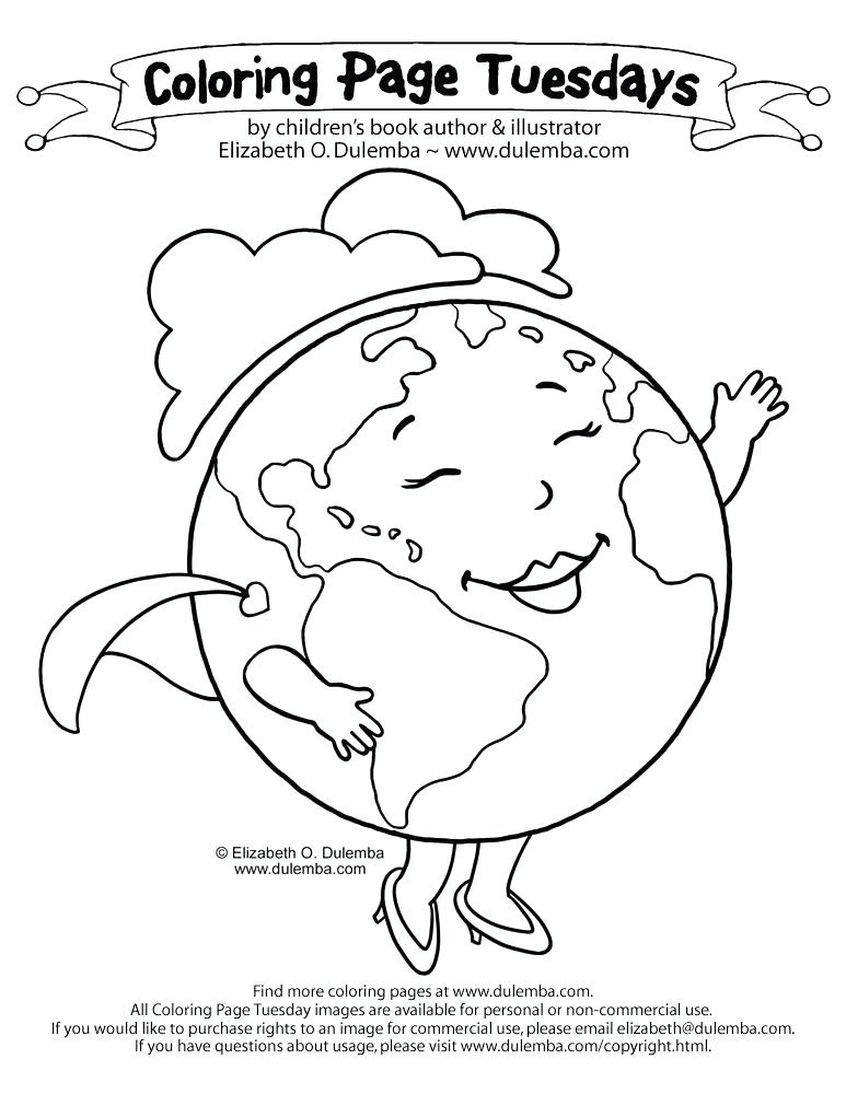 773x1000 Coloring Page Earth Coloring Page Of Earth Coloring Page Earth